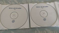 Skies of Arcadia White Label  #retrogaming #HotDC  Both discs in good condition. Very good price atm. Auction ends tomorrow.