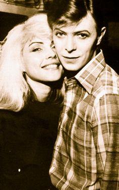 David Bowie & Deborah Harry