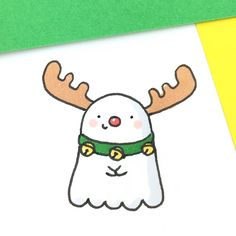 Spooky the Red-Nosed Reindeer
