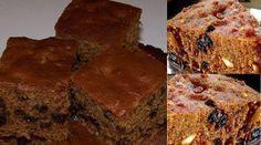 Apple Raisin nut cake