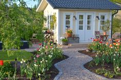Idea, tricks, and also overview in pursuance of obtaining the most ideal outcome and also creating the max perusal of Front of House Landscape Ideas Landscaping With Rocks, Front Yard Landscaping, Landscaping Design, Garden Landscape Design, House Landscape, Shed Makeover, Backyard Greenhouse, Shed Design, Garden Paths
