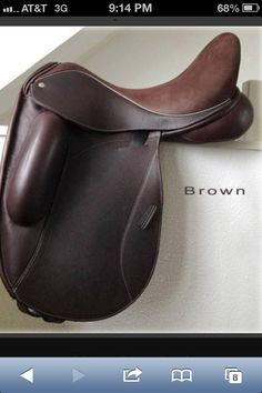 Icon Flight dressage saddle