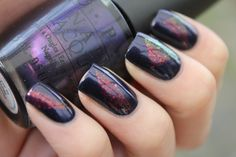 Nail art - dunno how to make this one happen, but def pretty.
