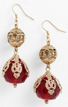 victorian bauble drop earrings http://rstyle.me/n/ukmripdpe