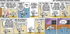 Comic strip August 7, 2011  Rat dreams of his cable provider actually providing good customer service.