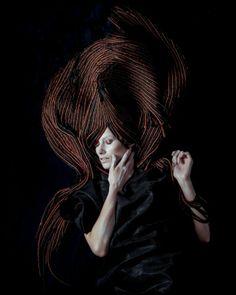 Jonathan De Francesco авангардная коллекция 2014 — HairTrend.ru Creative Hairstyles, Weird Hairstyles, Love Hair, My Hair, Avant Garde Hair, Glamour Hair, Extreme Hair, Fantasy Hair, Hair Raising