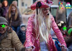 Animazione Carnevale dei Bambini a Monselice, in provincia di Padova 2013
