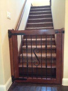 Custom Baby Gates   Spaces   Austin   Chris Duncanson Custom Carpentry And  Remodeling. Custom Dog GatesStair ...