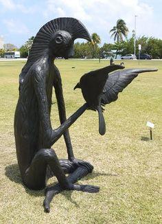 el nahual del mono - leonora carrington - 2007 - escultura