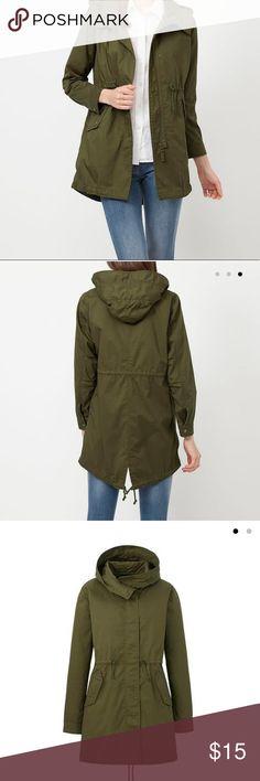 Uniqlo Woman Parka Fair Condition Uniqlo Jackets & Coats Utility Jackets
