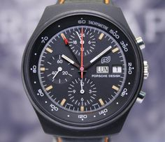 ポルシェ・デザイン (Porsche Design) Orfina PVD Chronograph Sammler rar black Chrono Top