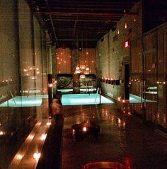 Aire Ancient Baths - amazing baths in TriBeCa, New York