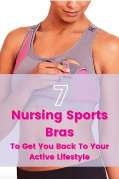 Nursing sports bras require two things; comfort and support. Check out our 7 favorite options that will have you feeling ready to be active again! #nursingsportsbra #postpartumexercise #nursingbra Breastfeeding Clothes, Breastfeeding And Pumping, Diy Nursing Clothes, Nursing Sports Bra, Pumping At Work, Best Sports Bras, Friend Outfits, New Moms, Workout