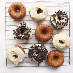 Vegan Cookie Crumb Donuts