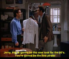 Seinfeld quote - Kramer tries to sell Jerry on what to wear, 'The Puffy Shirt'