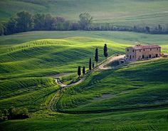 Toscana para recorrer en moto!