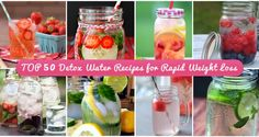 Detox water is the latest diet craze to take off in recent years. Check out the best 50 recipes available.