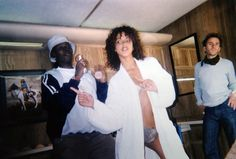 Lisa Mitchell & Noemie Lenoir @ backstage of Victoria's Secret Campaign shooting