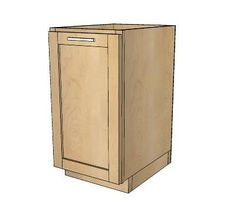 Best 18 Kitchen Base Cabinet Trash Pull Out Or Storage 640 x 480