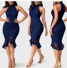 Fashion African Dress Beautiful Ideas For 2019 Elegant Dresses Classy, Classy Dress, Casual Dresses, 50s Dresses, African Wear Dresses, Latest African Fashion Dresses, Chic Outfits, Fashion Outfits, Dress Fashion