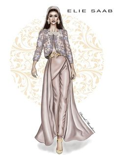 Elie Saab Haute Couture! by David Mandeiro