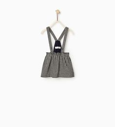 GINGHAM CHECK SKIRT WITH STRAPS-WINTER COLLECTION-BABY GIRL | 3 months-3 years-KIDS | ZARA United States