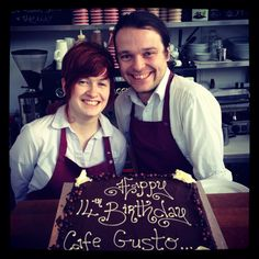 Birthday cake time ..14 years ago on Washington St. we set out to change the face of coffee & food in Cork city - we're still trying :)