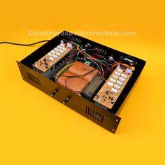 Al igual que en nuestro Amplificador híbrido de éste amplificador está diseñado con refrigeración de tipo túnel. Hifi Amplifier, Electrical Circuit Diagram, Electric Circuit, Electronics Projects, Strobing, Landline Phone, David Gonzalez, Creativity Quotes, Itachi