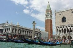 Campanile und Dogenpalast, Venedig