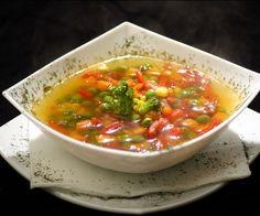 Grøntsagssuppe opskrift