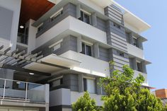 View our aluminium roofing solutions at ZC Technical. We offer superior quality aluminium, produced overseas and available for use in all our panel systems. Panel Systems, Wall Cladding, Brisbane, Multi Story Building, Mansions, House Styles, Home Decor, Decoration Home, Room Decor