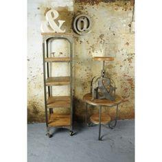 Vintage Helsing Corner Shelf