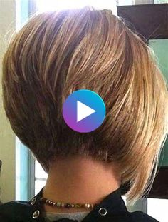 Short Hairstyles - Trended Stacked Bob Hairstyles for Women 2018 2019 28 Short Stacked Bob Haircuts, Modern Short Hairstyles, Bob Hairstyles For Fine Hair, Short Stacked Bobs, Bob Haircuts For Women, Latest Short Haircuts, Layered Bob Short, Easy Hairstyles, Bobs For Thin Hair