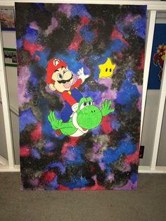 Mario and Yoshi #supermario