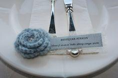 Bordkort til barnedåp - BESTILLINGSVARE Barn, Knitting, Diy, Tricot, Bricolage, Breien, Knitting And Crocheting, Warehouse, Crochet