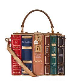 3d6138b7e795 Dolce   Gabbana Book Padlock Top Handle Bag. Major Harry Potter Vibes! Dolce