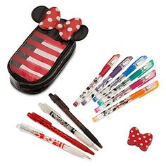 I cant' help it, I'm a Disney fiend! Minnie Mouse Pen and Pencil Set #backtoschool #minniemouse #disney www.lil-miss.com $14.50