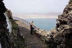 Lanzarote: Aussichtsterrrasse vom Mirador del Rio