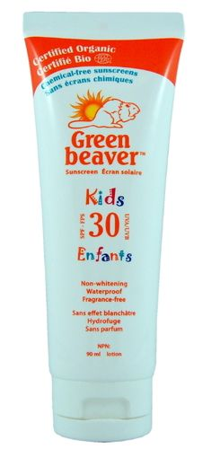 Green Beaver Kids Non-whitening Fragrance-free Sunscreen - SPF 30 $19.99 - from Well.ca
