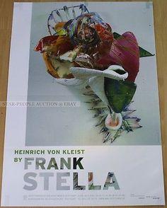 GERMAN-EXHIBITION-POSTER-2001-HEINRICH-VON-KLEIST-BY-FRANK-STELLA-art-print