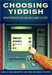 """Yiddish Hip Hop, a nineteenth-century """"Hasidic Slasher,"""" obscure Yiddish writers, and immigrant Jewish newspapers in Buenos Aires, Paris, and New York are just a few of the topics featured in Choosing Yiddish: New Frontiers of Language and Culture."""