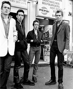"The Clash were an English punk rock band that formed in 1976 as part of the original wave of British punk. Along with punk, their music incorporated elements of reggae, dub, funk, and rockabilly. For most of their recording career the Clash consisted of Joe Strummer (lead vocals, rhythm guitar), Mick Jones (lead guitar, vocals), Paul Simonon (bass guitar, vocals) and Nicky ""Topper"" Headon (drums, percussion)."