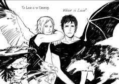 Amazing Art by Cassandra Jean, Jace Herondale/Lightwood and Will Herondale