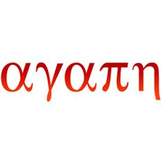 """Agape in Greek , meaning """"unconditional selfless, self-giving, sacrificial love."""" <3i think I like the Greek writing."""