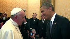 Ομπάμα vs Πάπας Φραγκίσκος: Ποιος από τους δυο έχει μεγαλύτερη επιρροή. ~ Geopolitics & Daily News