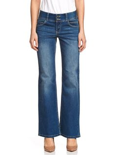 Stretch Wide Leg Ocean Jean from Just Jeans - $70, sizes 11+12