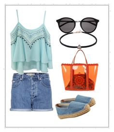 """""""Untitled #824"""" by giselaturca on Polyvore featuring Dolce&Gabbana, Calvin Klein Jeans, Castañer and Yves Saint Laurent"""