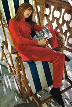 Jane Birkin 70s steez is more than channel img my loungewear right now