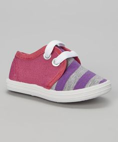 Take a look at this Purple & Pink Victor Sneaker on zulily today!