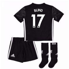 db20be11 Manchester United Daley Blind 17 Bortedraktsett Barn 17-18 Kortermet # Billige #Fotballdrakter
